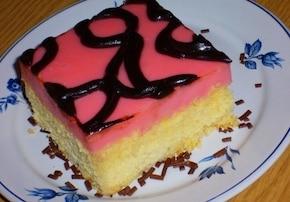 Ciasto z budyniem bardzo łatwe