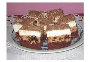 Ciasto z nutellą i pijaną śliwką