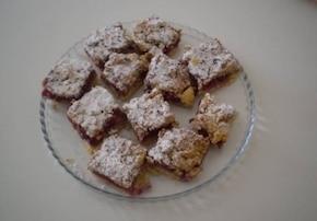 Ciasto z wiśniami i kruszonką