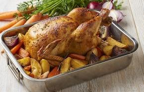 Złoty pieczony kurczak