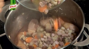 Couq au vin - Kurczak w winie - VIDEO – krok 3