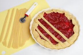 Proste ciasto z rabarbarem – krok 5