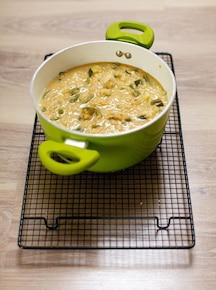 Curry z cukinią i fasolką szparagową