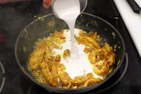 Curry z kurczaka – krok 3