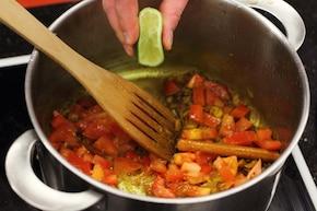 Curry z kurczaka  – krok 4