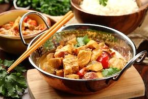 Curry z tuńczykiem