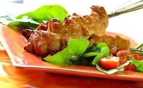 Cytrusowe szaszłyki z kurczaka