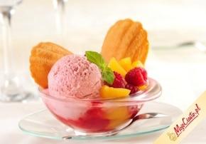 Cytrynowe magdalenki z Carte d'Or Strawberry