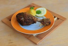 Cytrynowe podudzia kurczaka