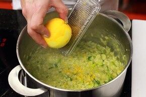 Cytrynowe risotto z porami i rozmarynem  – krok 5