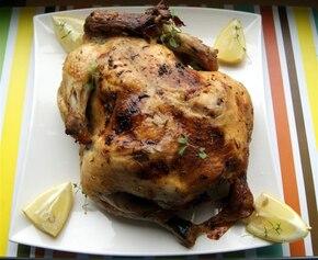 Cytrynowo-maślany kurczak