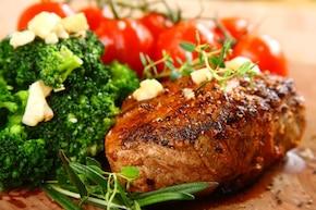 Czarny stek