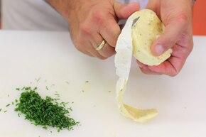 Dip camembert – krok 1