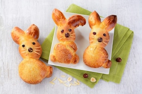 Drożdżowe króliczki