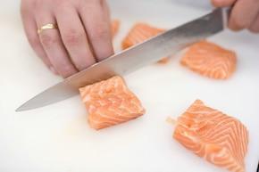 Duet mięsa i ryby  – krok 1