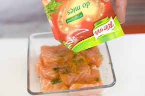 Duet mięsa i ryby  – krok 3