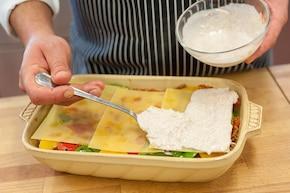 Extra ostra lasagne z grillowaną papryką – krok 4