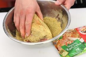 Karkówka z fasolką szparagową – krok 1
