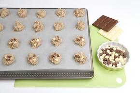 Fasolowe ciasteczka z czekoladą – krok 5