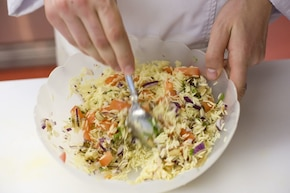 Bakłażan z ryżem – krok 4