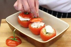 Faszerowane pomidory – krok 5