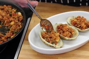 Ziemniaki faszerowane mięsem – krok 5