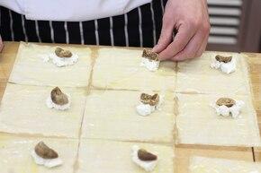 Figi z serem w cieście filo – krok 3