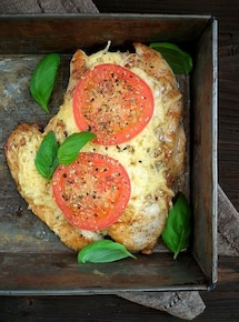 Filety zapiekane na styl włoski