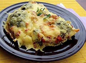 Frittata warzywno-mięsna