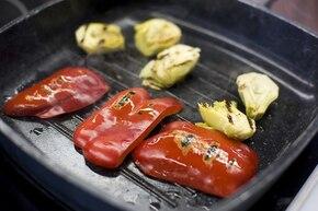 Frittata z pieczarkami i karczochami – krok 2