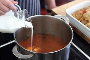 Gołąbki tradycyjne z ryżem i mięsem – krok 5