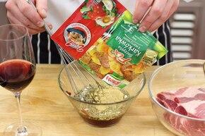 Grecka pieczeń z warzywami – krok 1