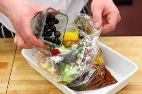 Grecka pieczeń z warzywami – krok 3