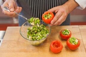 Greckie pomidory   – krok 4