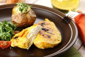 Grillowany kurczak w curry