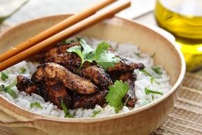 Grillowany kurczak w pięciu smakach
