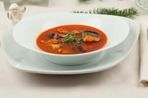 Halaszle – rybna zupa z karpia