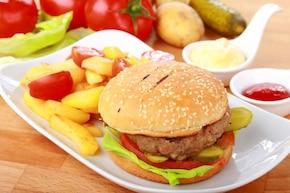 Hamburger w ziołach