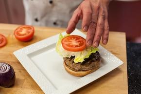 Hamburgery w glazurze  – krok 3
