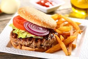 Hamburgery w glazurze