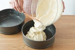 Ciasto z orzechami – krok 2