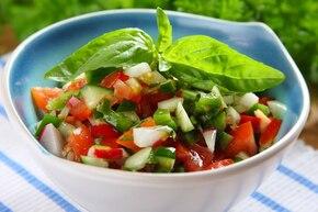 Hiszpańska salsa wegetariańska