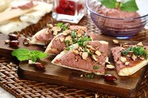 Hummus na picie z migdałami
