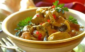 Jagnięcina z bakłażanem w sosie curry