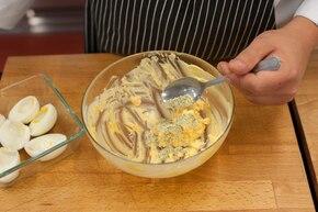 Jajka jeże  – krok 2