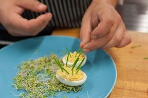 Jajka jeże  – krok 4