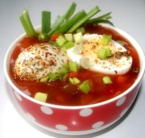 Jajka w sosie słodko-kwaśnym