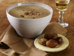 Jesienna zupa z kasztanów