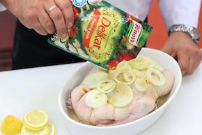 Kaczka w sosie cytrynowym – krok 3