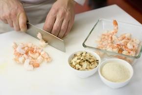 Kalafior w sosie śmietanowo-serowym – krok 2